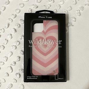 Brand New - Gorgeous pink Wildflower Case!